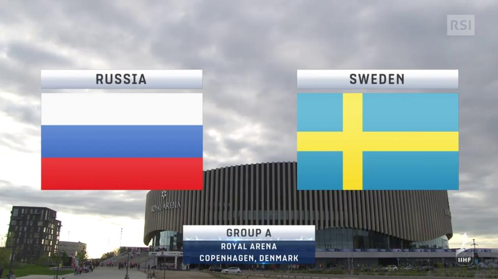 Mondiali, le highlights di Russia - Svezia (15.05.2018)