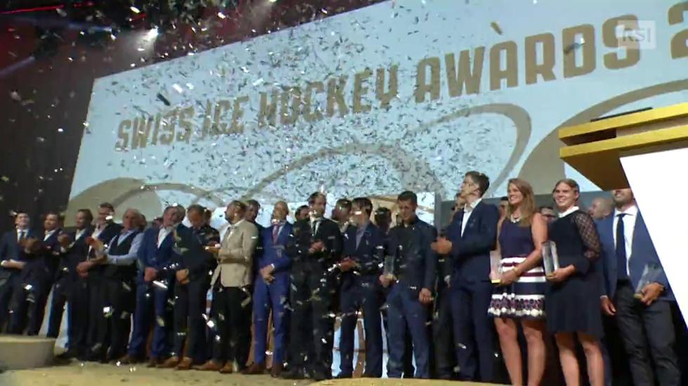 Il servizio sugli Swiss Ice Hockey Awards (04.08.2018)