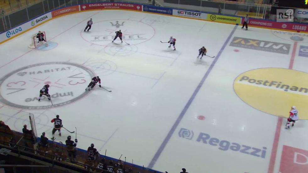 Champions Hockey League, le reti di Lugano - JYP Jyväskylä (09.10.2018)
