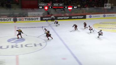 Lucerne Cup, il 3-1 di Zwerger in Svizzera - Austria (13.12.2018)