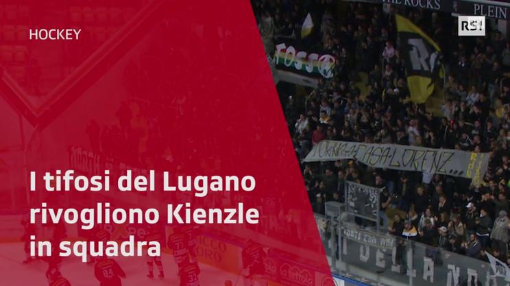 I tifosi del Lugano rivogliono Lorenz Kienzle