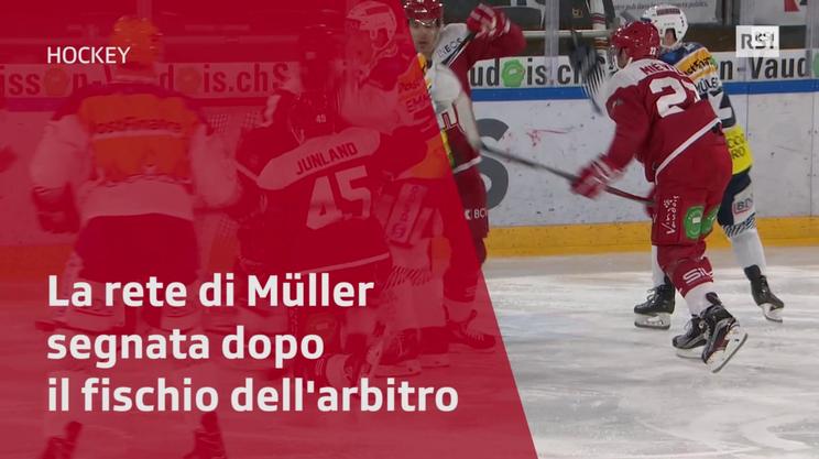 Müller segna, ma l'arbitro aveva già fischiato