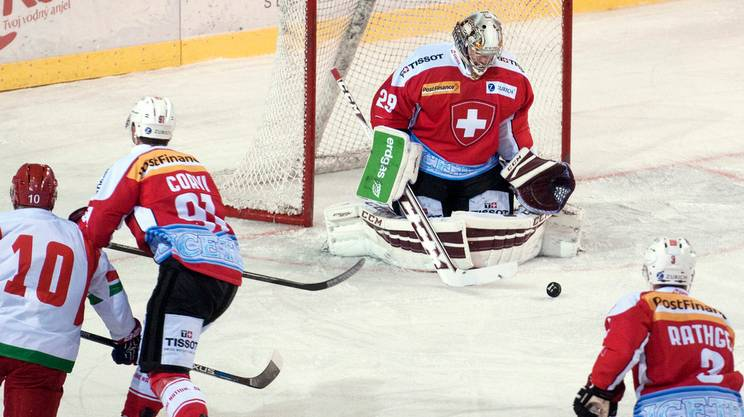 Svizzera battuta dalla Bielorussia