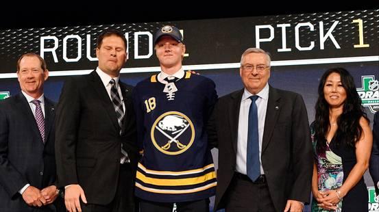 È Rasmus Dahlin il numero 1 del draft NHL