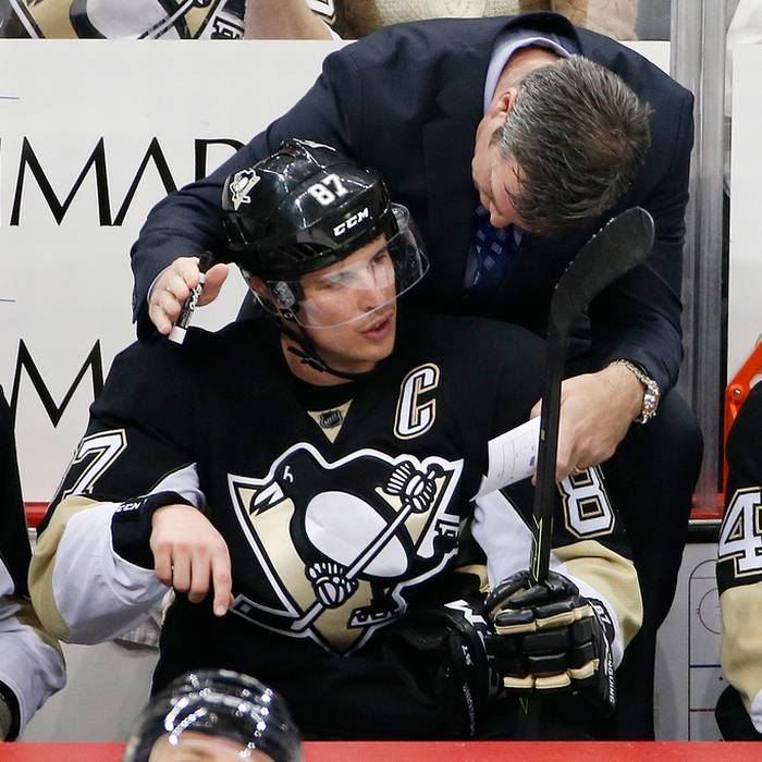 Sidney Crosby a forza sette