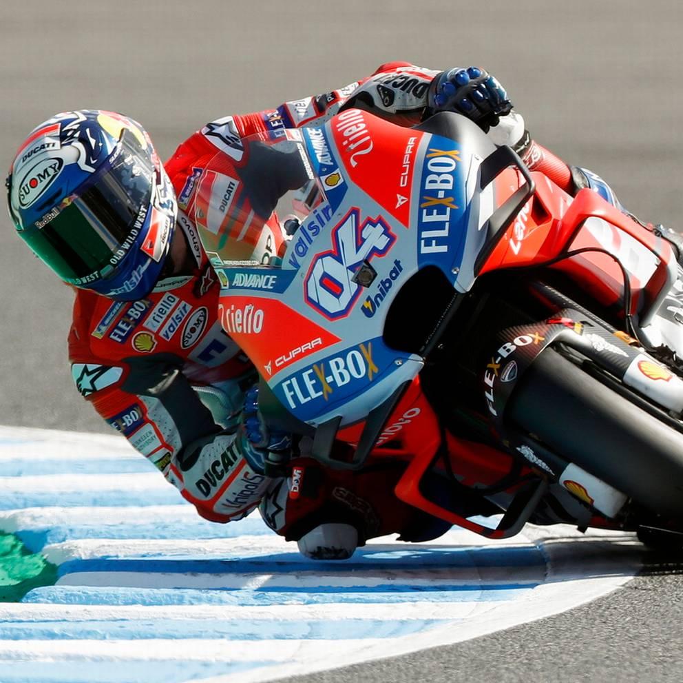 Dovizioso in pole, Marquez scatterà sesto
