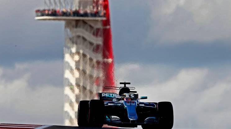 Hamilton in pole anche ad Austin