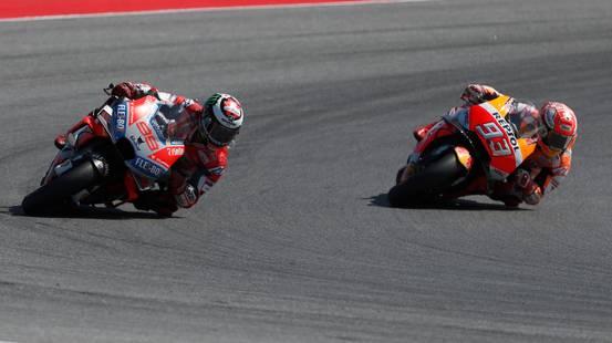 Lorenzo è il più veloce in qualifica ad Aragona