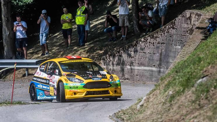 Rally, Carron è campione svizzero
