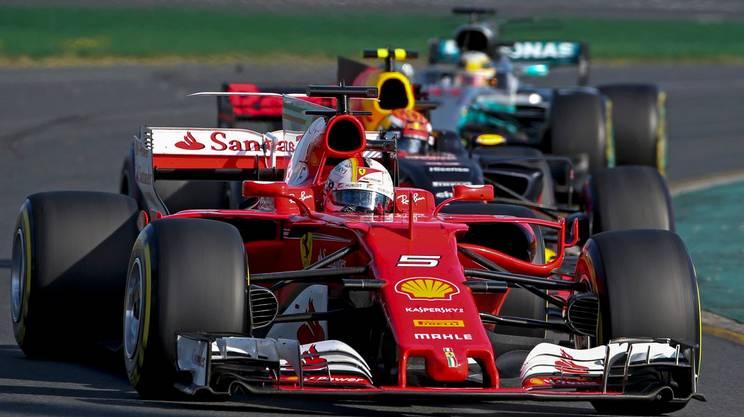 La Ferrari di Vettel mette in riga le Mercedes