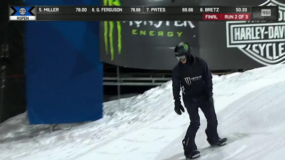 X-Games, l'infortunio di Iouri Podladtchikov ad Aspen (29.01.2018)