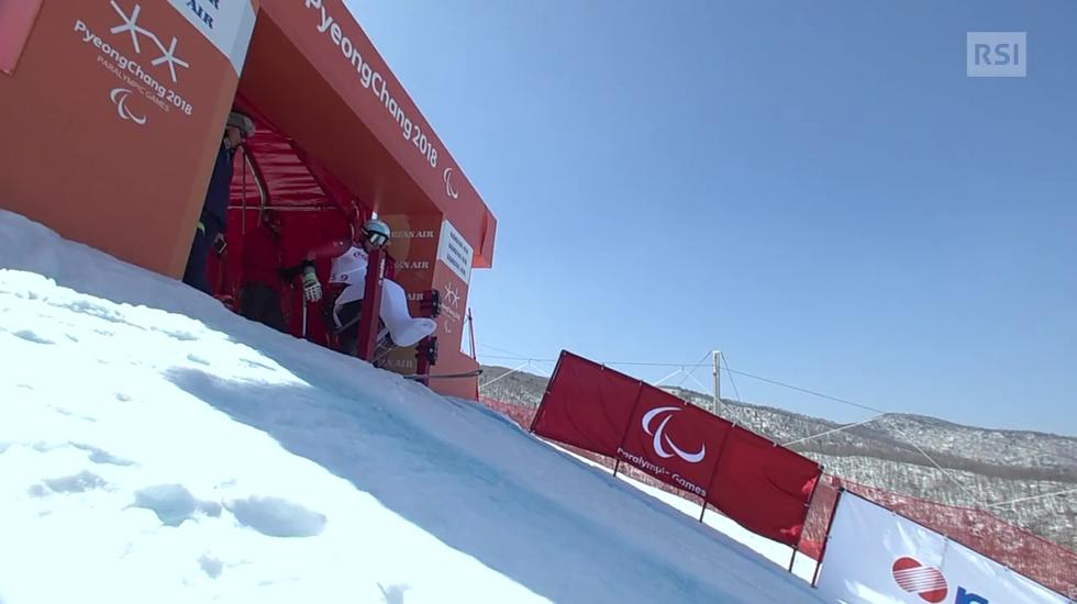Paralimpiadi, l'uscita di Murat Pelit (13.03.2018)