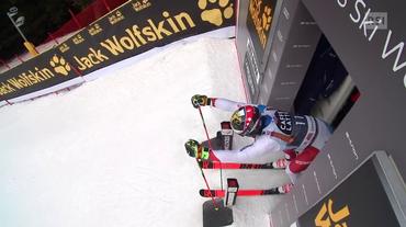 Gigante maschile Alta Badia, la seconda manche di Loïc Meillard (16.12.2018)