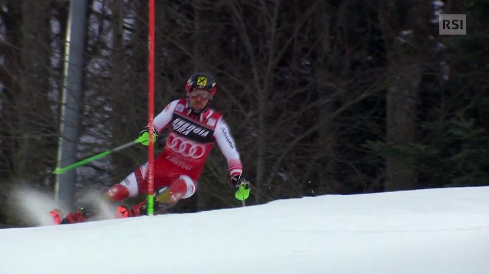 Slalom maschile di Zagabria, il servizio sulla gara (La Domenica Sportiva 06.01.2019)