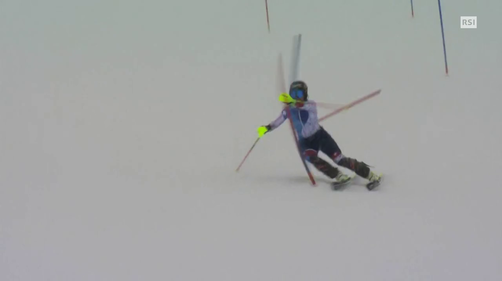 Mondiali St.Moritz, il servizio sull'infortunio di Lara Gut (Telegiornale 10.02.2017, 20h00)