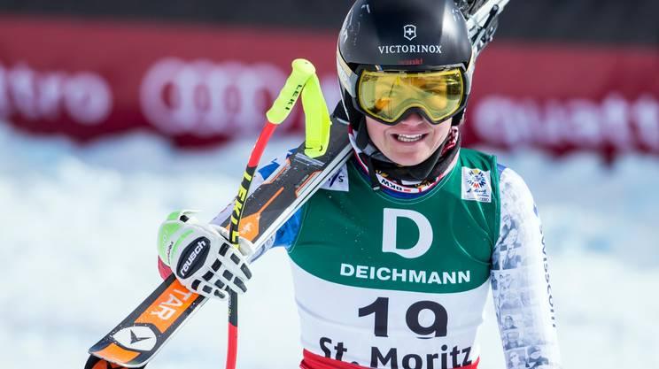 Fabienne Suter appende gli sci al chiodo