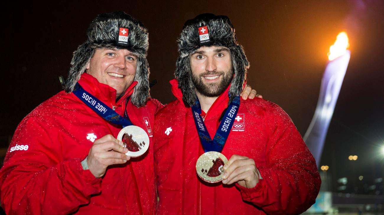 A Sochi con l'argento conquistato con il frenatore Alex Baumann