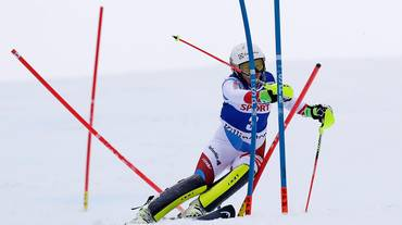 Lo slalom femminile in streaming