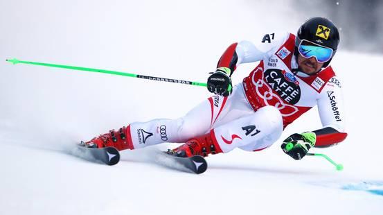 Hirscher domina il gigante di Alta Badia
