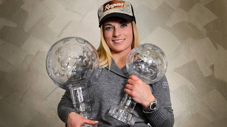 Lara Gut è la sportiva dell'anno