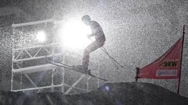 Ad Arosa la fa da padrona la neve