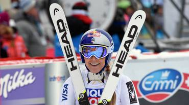 Lindsey Vonn si impone a Val d'Isère