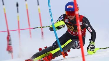 Shiffrin vicina al settimo successo in slalom