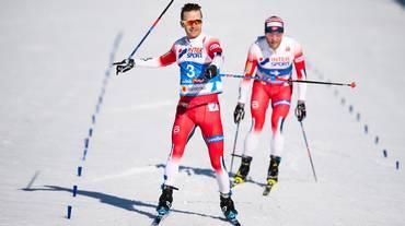Lo skiathlon di Seefeld va a Sjur Röthe