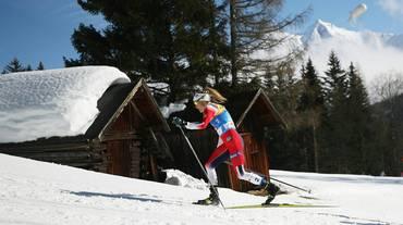 Therese Johaug intrattabile nello skiathlon