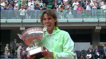 Roland Garros, finale 2010 Nadal - Söderling