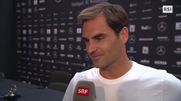 Tennis, Roger Federer su nazionale calcio (14.06.2018)