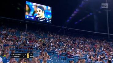 Cincinnati, il servizio sul derby Federer - Wawrinka (18.08.2018)