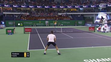 Masters 1000 di Shanghai, il servizio su Federer - Coric (Sportsera 13.10.2018)