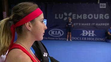 WTA Lussemburgo, il servizio sulla finale Bencic - Görges (Sportsera 20.10.2018)