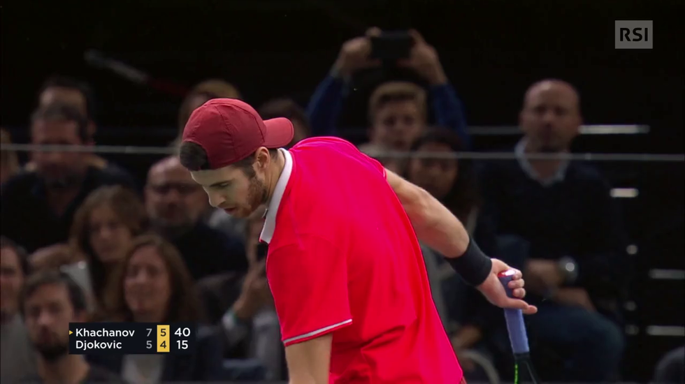 Masters 1000 Parigi-Bercy, il servizio su Khachanov - Djokovic (La Domenica Sportiva 04.11.2018)