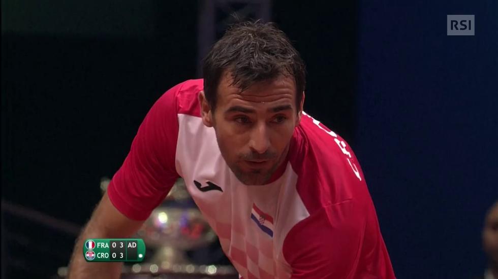 Coppa Davis, il servizio sul doppio della finale (Sport Sera 24.11.2018)