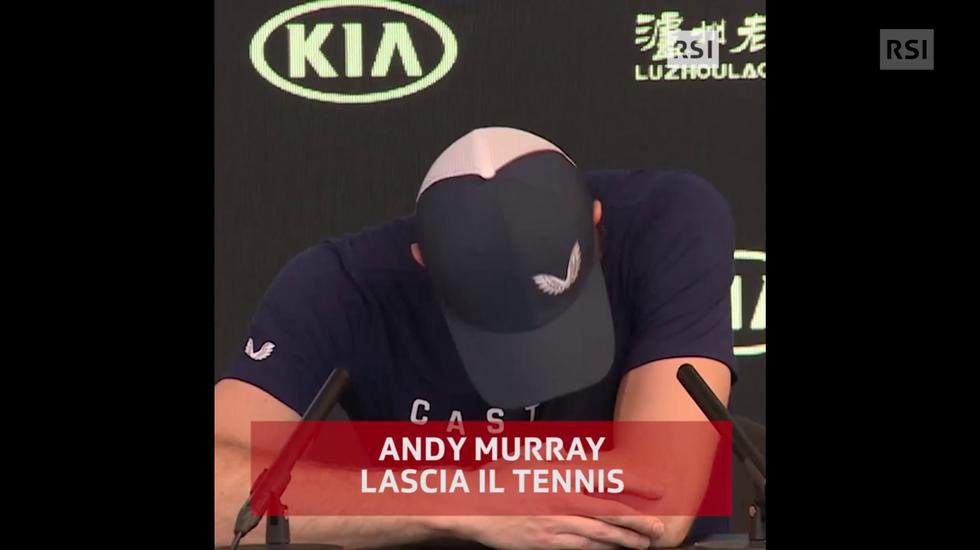 Australian Open, Andy Murray annuncia la fine della propria carriera (11.01.2019)