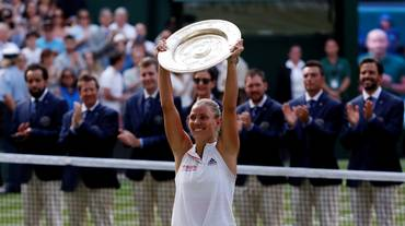 Angelique Kerber nuova regina di Wimbledon