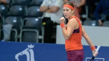 Belinda Bencic avanza spedita in Lussemburgo