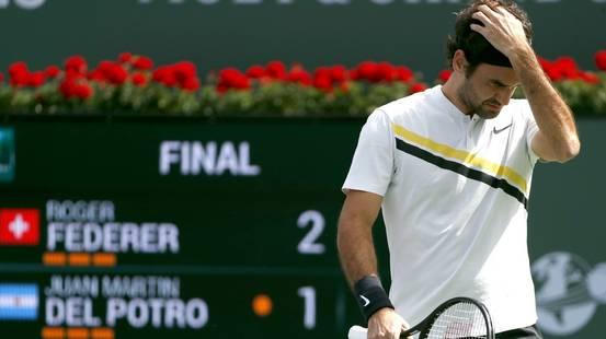 Federer si arrende a Del Potro in finale