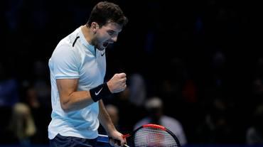 Dimitrov fa sue le finali ATP