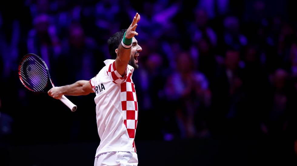 Cilic consegna la seconda Davis alla Croazia