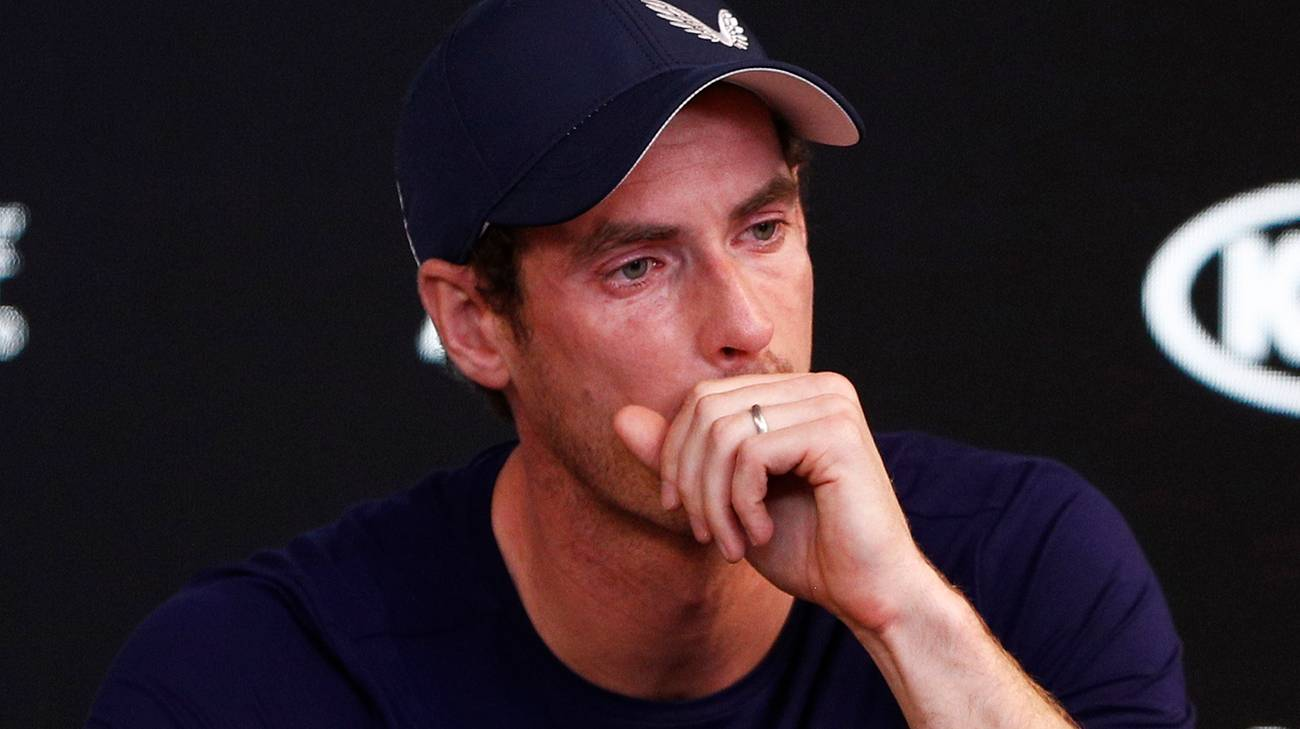 Andy Murray si ritira dal tennis: