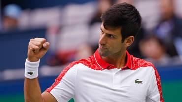 Novak Djokovic primo finalista a Shanghai