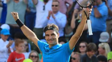 Federer vittorioso sull'erba di Stoccarda