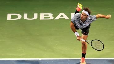 Clamorosa eliminazione di Federer a Dubai