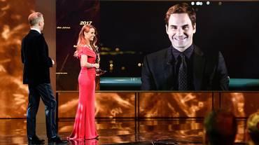 Sports Awards, trionfo di Roger Federer