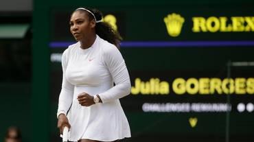 Serena Williams raggiunge la Kerber in finale
