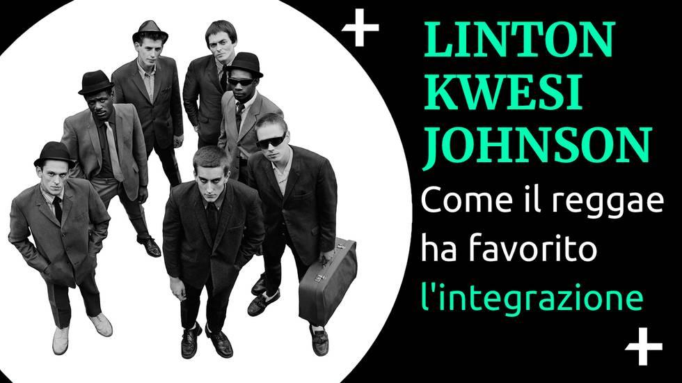 COver Cult+ Linton Kwesi Johnson e l'integrazione reggae (m)