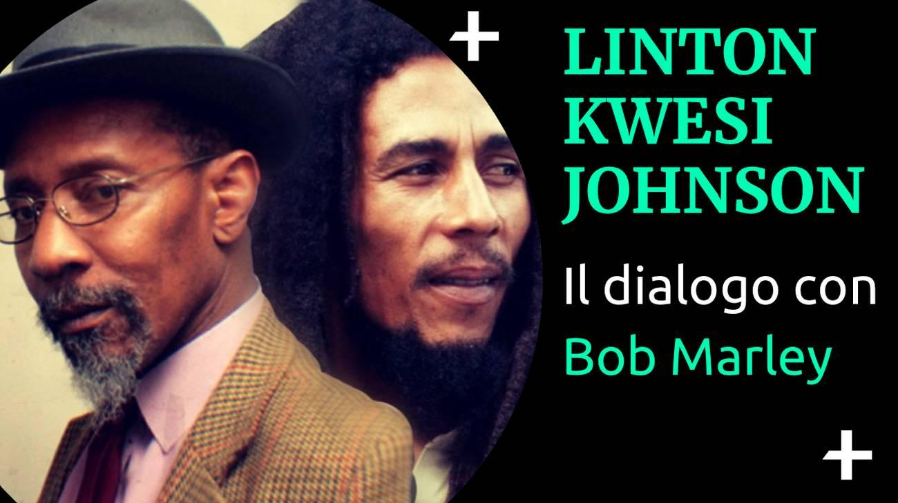 Cover Cult+ Linton Kwesi Johnson e Bob Marley (l)